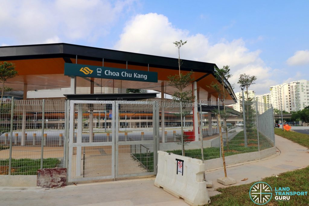 Choa Chu Kang Temporary Bus Interchange - Pedestrian Entrance
