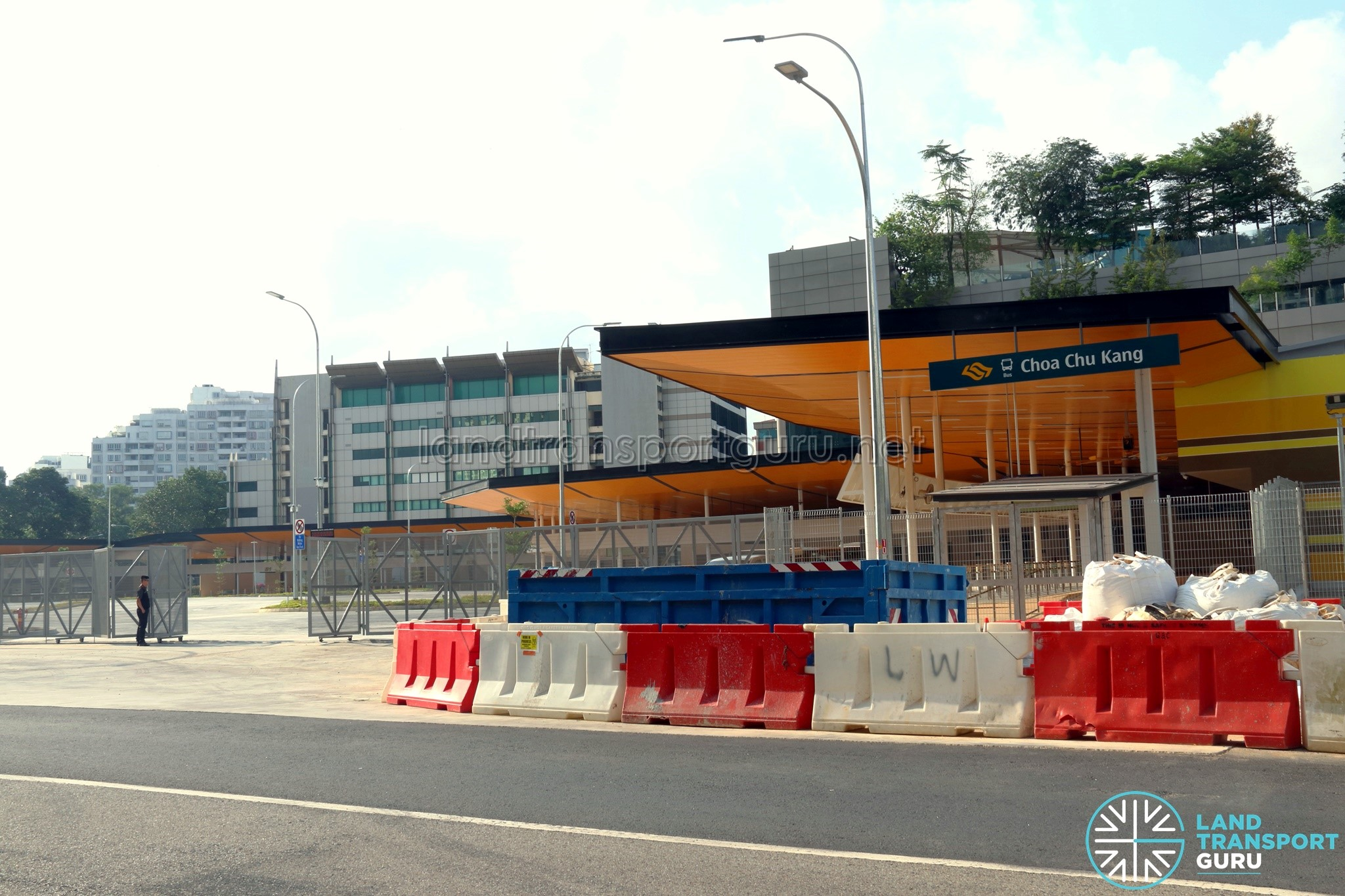 Choa Chu Kang Temporary Bus Interchange - Vehicle Egress