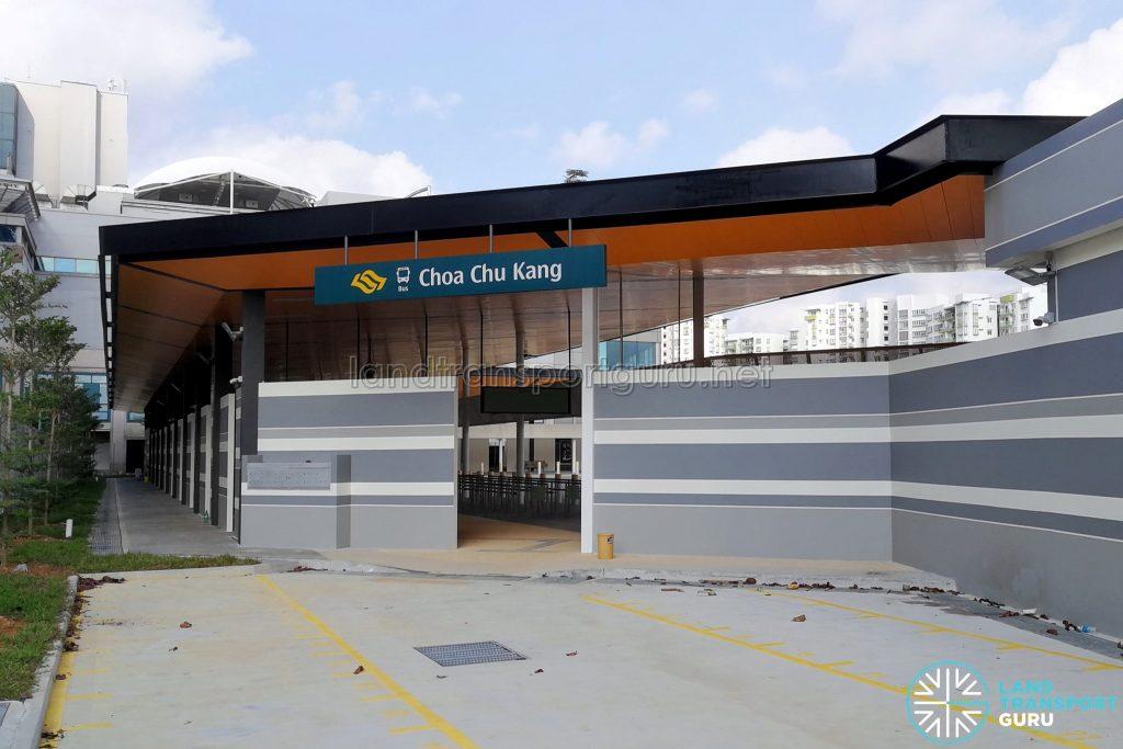 Choa Chu Kang Temporary Bus Interchange - Choa Chu Kang Drive Exit