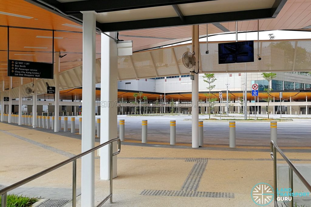 Choa Chu Kang Temporary Bus Interchange - Alighting Berth