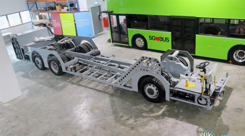 ADL Enviro500 (Euro 6) Chassis - Top view
