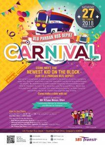Ulu Pandan Bus Depot Carnival Poster