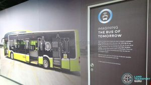 Bus Exhibit at the Singapore Mobility Gallery - Description