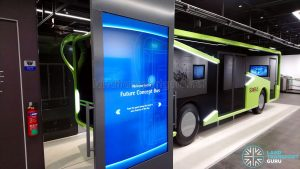 Bus Exhibit at the Singapore Mobility Gallery - Slider