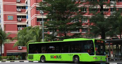 SG BUS Stock Photo