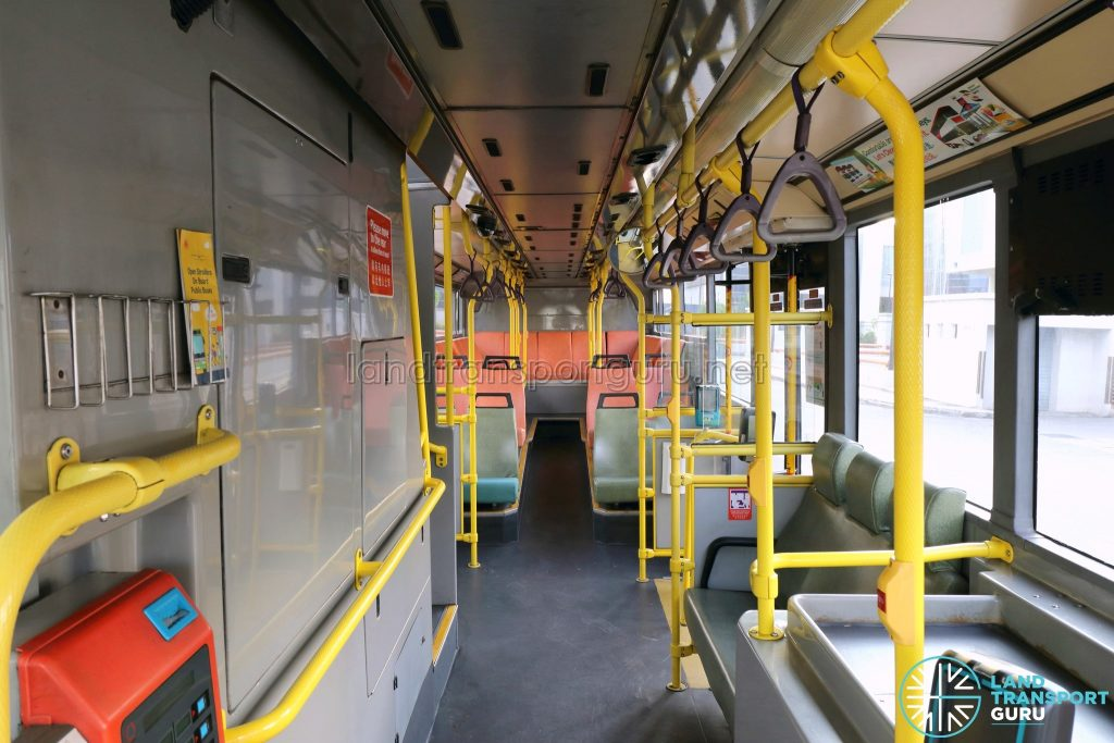 Volvo B10TL - Lower deck (Front to Rear)