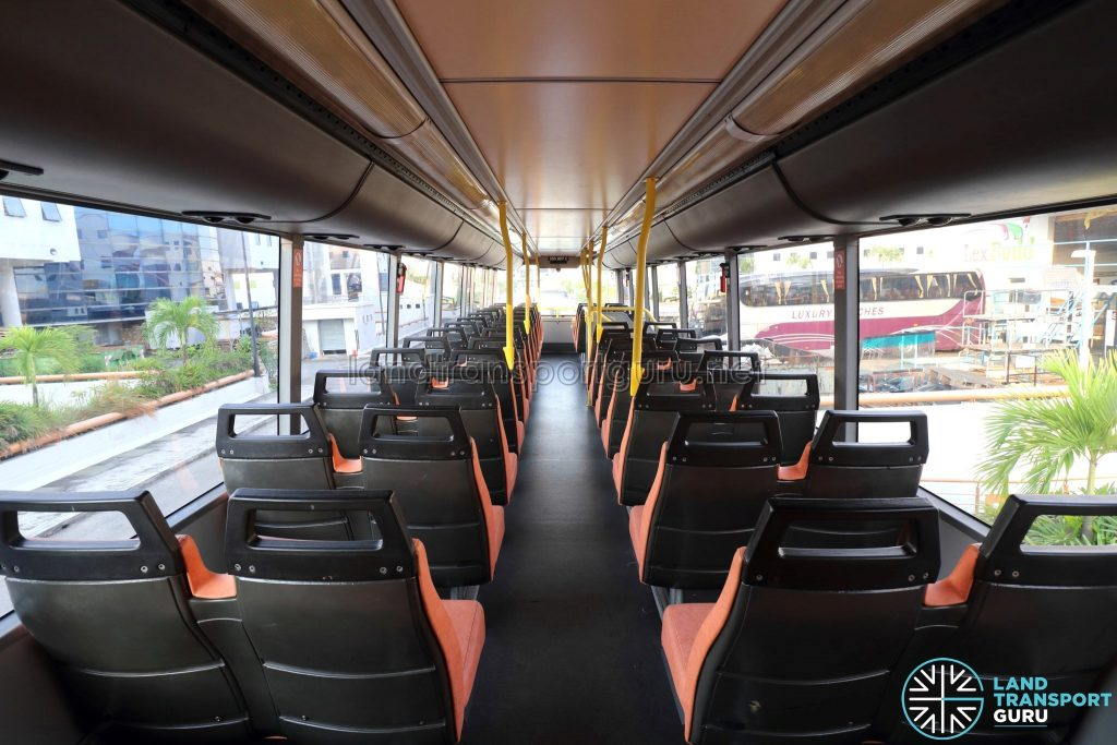 Volvo B10TL - Upper deck (Rear to Front)