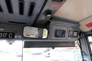 Volvo B10TL - Overhead of driver's cab
