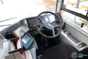 Volvo B10TL - Driver's Cab