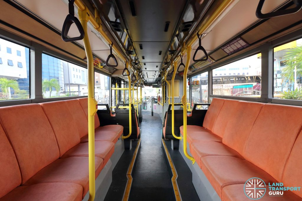 Volvo B10TL - Lower Deck (Rear to Front)
