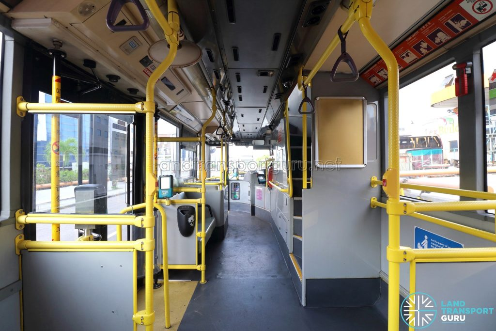 Volvo B10TL - Lower Deck (Mid to Front)