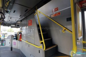 Volvo B10TL - Staircase to Upper deck