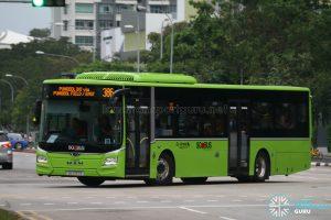 Bus 386: Go-Ahead MAN Lion's City A22 (SG1797R)