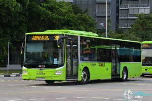 Bus 386: Go-Ahead MAN Lion's City A22 (SG1798M)
