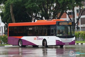 Bus 102 - Scania K230UB Euro 5 (SBS5126P)