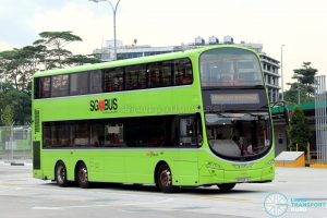 UPDEP - Jurong East Shuttle: SBS Transit Volvo B9TL Wright (SG5437D)