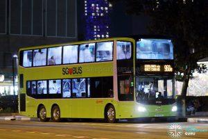 Service 960e - SMRT Buses MAN A95 Euro 6 (SG5970E)