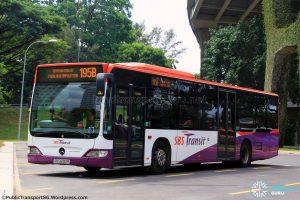 Service 195B - SBS Transit Mercedes-Benz Citaro (SBS6192R)