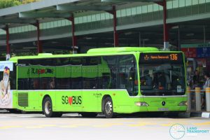 Bus 136 - Go-Ahead Mercedes-Benz Citaro (SBS6535H): Happy Deepavali