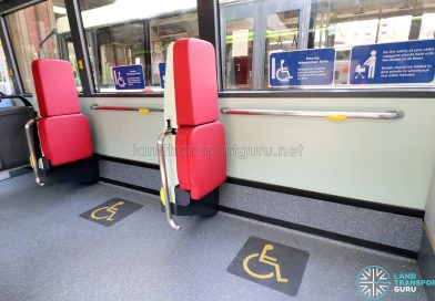 MAN A22 (Euro 6) - Wheelchair Bays (Curved Handlebars)