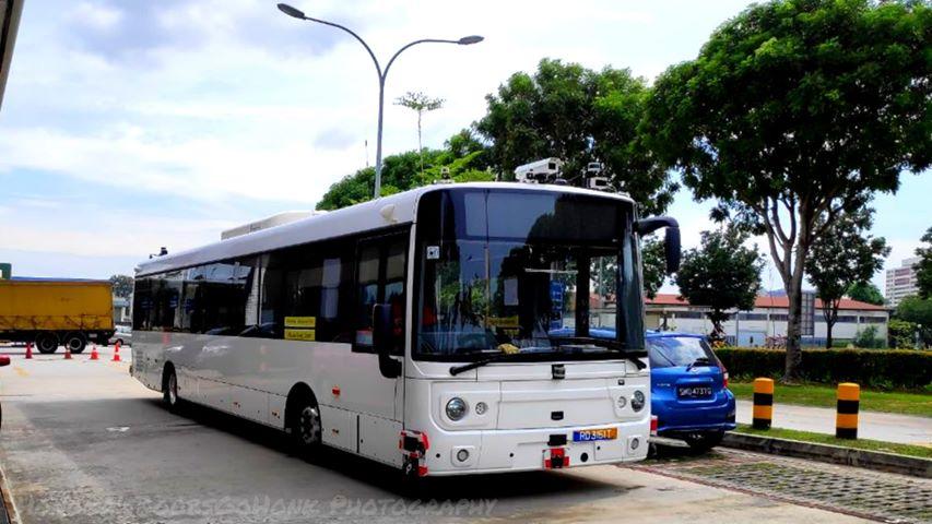 STE-Linkker Autonomous Electric Bus; Photo: Syabiel Ahamed