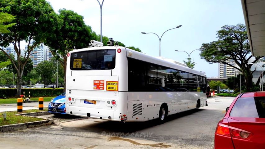 STE-Linkker Autonomous Electric Bus; Photo: Syabiel Ahamed