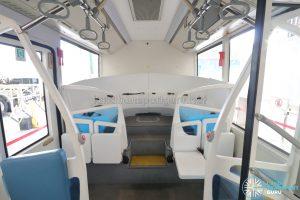 ST Autobus - Interior seating