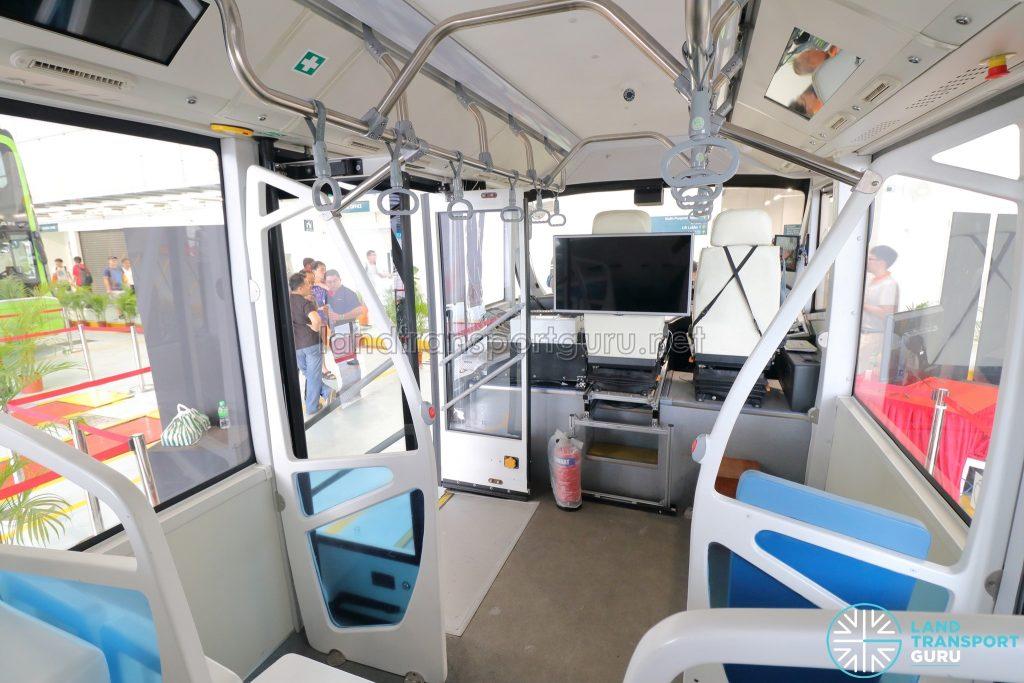 ST Autobus - Cabin Interior