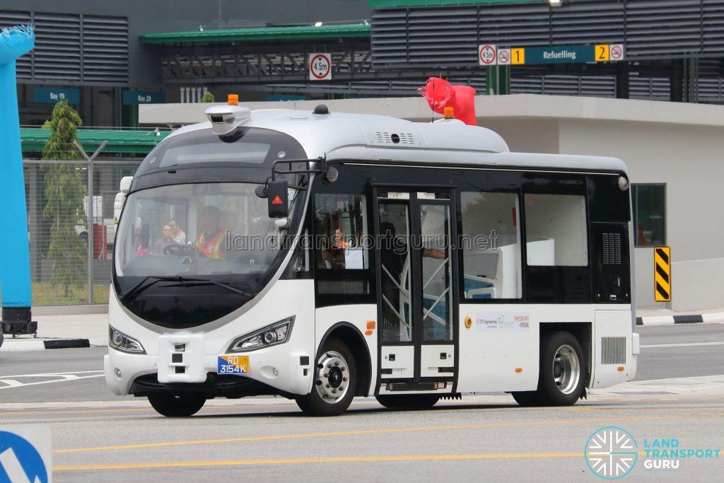 ST Autonomous Mini-Bus (Autobus) (RD3154K)