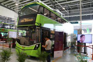 Ulu Pandan Bus Depot Carnival Static Bus Display - SBS Transit Volvo B8L (SG4003D)