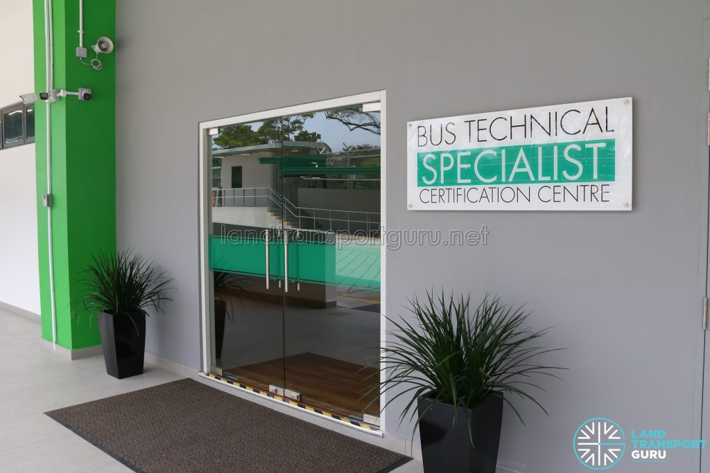 Bus Technical Specialist Certification Centre at Ulu Pandan Bus Depot