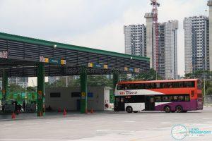 Ulu Pandan Bus Depot Carnival - Bus Wash Tour