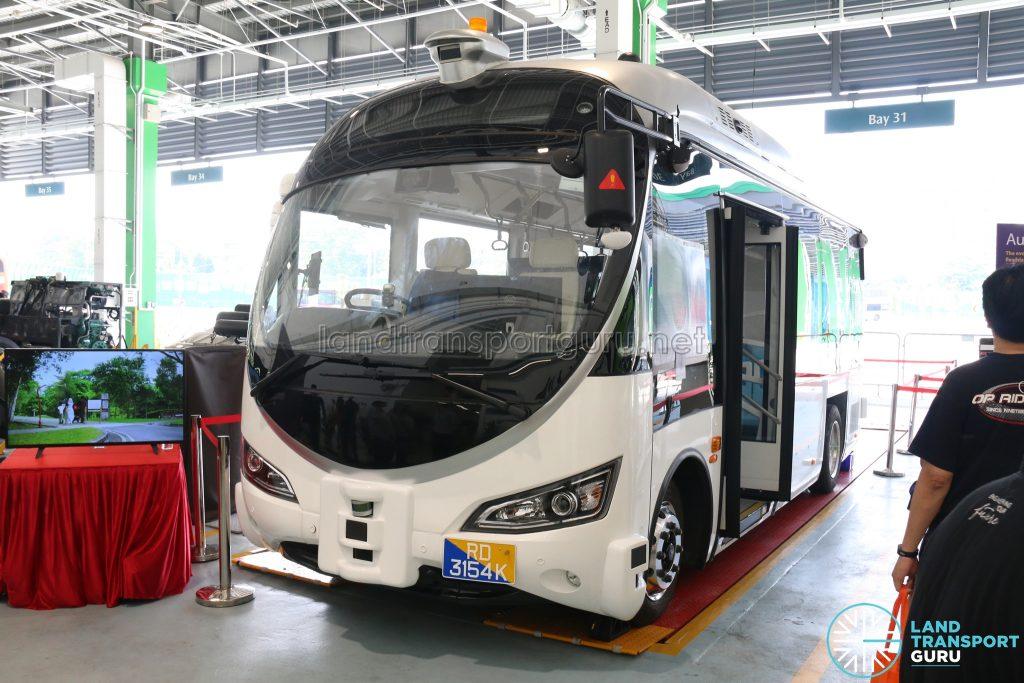 Ulu Pandan Bus Depot Carnival Static Bus Display - ST Engineering Land Systems Autobus (RD3154K)