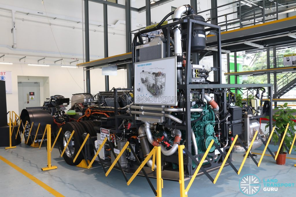 Volvo Hybrid Euro 6 Chassis - Bus Technical Specialist Certification Centre