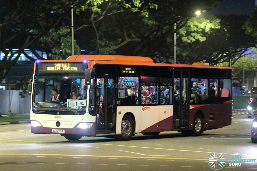 Shuttle 3 - SMRT Buses Mercedes-Benz Citaro (SG1225A)