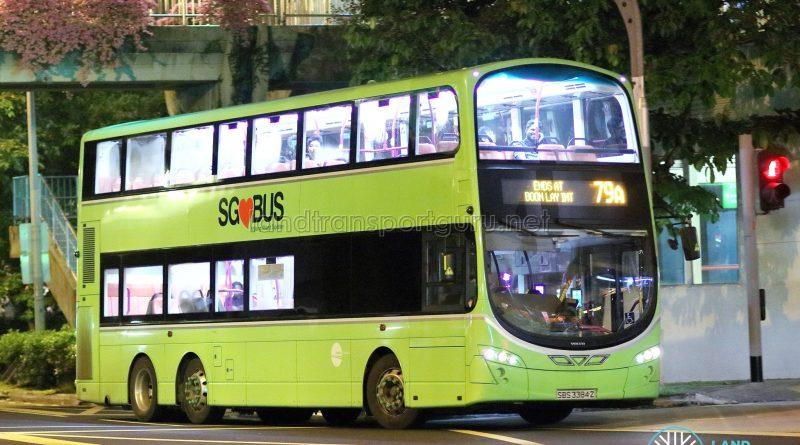 Service 79A - Tower Transit Volvo B9TL Wright (SBS3384Z)
