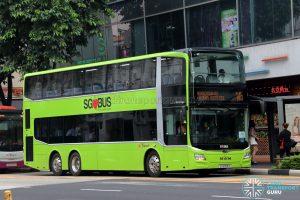 Service 145 - SBS Transit MAN A95 Euro 6 (SG5958S)