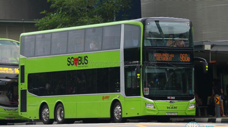 Express Bus 960e - SMRT Buses MAN A95 Euro 6 (SG5974U)
