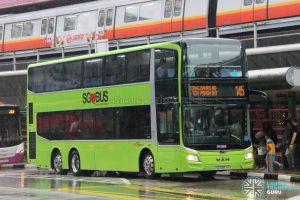 Service 145 - SBS Transit MAN A95 Euro 6 (SG5987H)