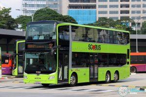 Service 121 - SBS Transit MAN A95 Euro 6 (SG6001X)