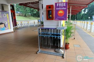 Shared umbrella - Bukit Merah Interchange