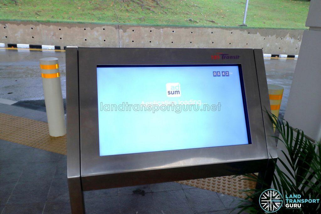 SBS Transit Interactive Panel - Bukit Merah