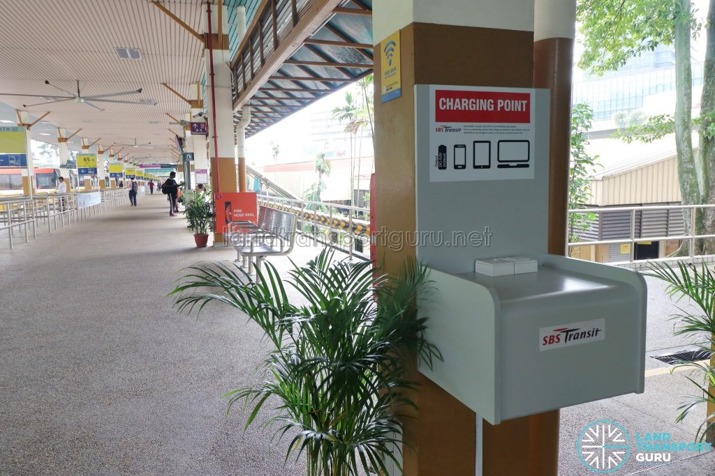 Phone Charging Point - HarbourFront