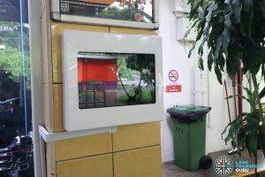 SBS Transit Interchange Feedback Panel - HarbourFront