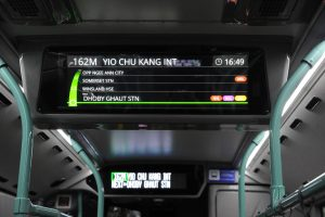 Volvo B5LH - Interior Passenger Information Display System (LTA)