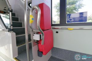 MAN A95 (Euro 6) - Modified Handrail Mechanism
