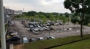 Mall of Medini Parking Area