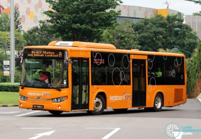 Sentosa Development Corporation Volvo B8RLE (PC7382X) - Sentosa Bus A