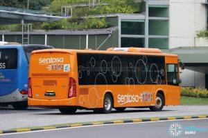 Sentosa Development Corporation Volvo B8RLE (PC7382X) - Side View