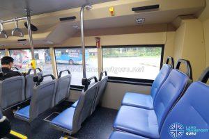 Sentosa Volvo B8RLE - Rearmost seats